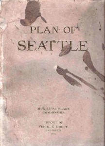 from 1911, the Bogue plan of Seattle speaks
