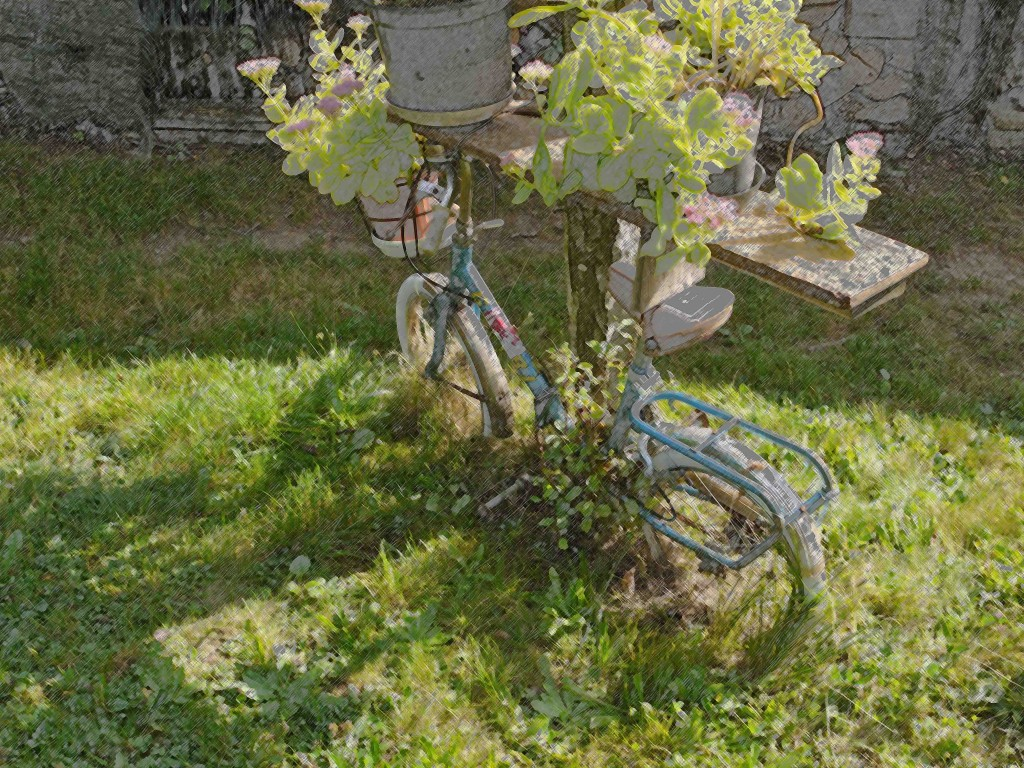 a re-cycling postcard: the most sustainable bicycle in Italy