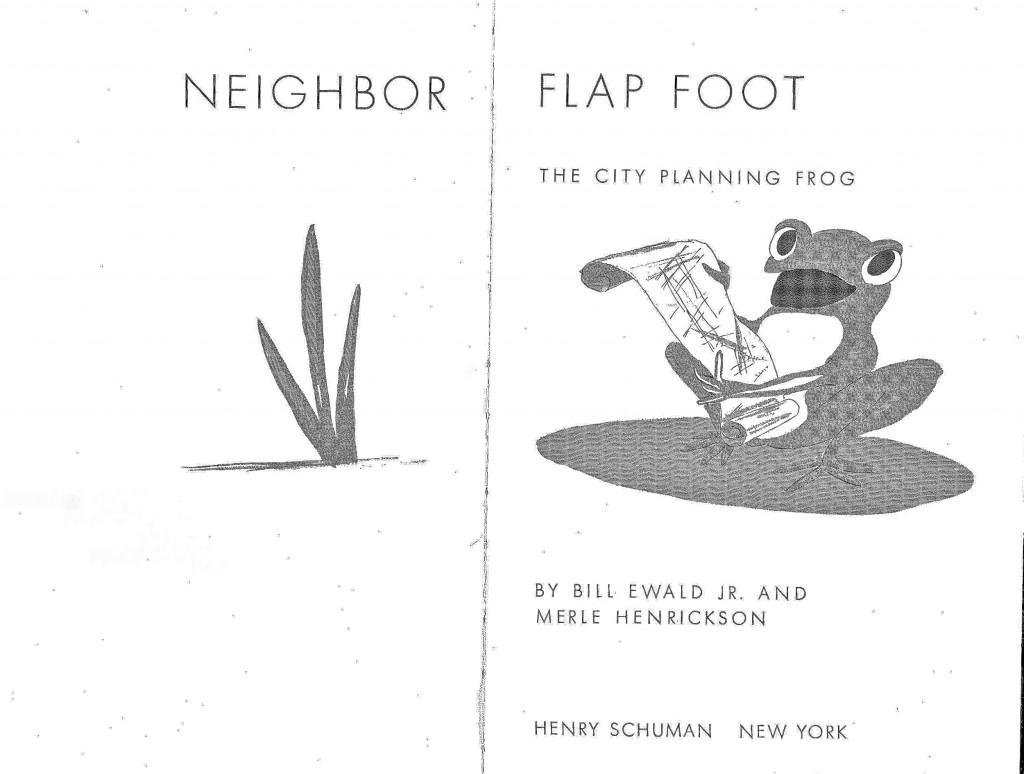 childhood urbanism: remembering Neighbor Flap Foot