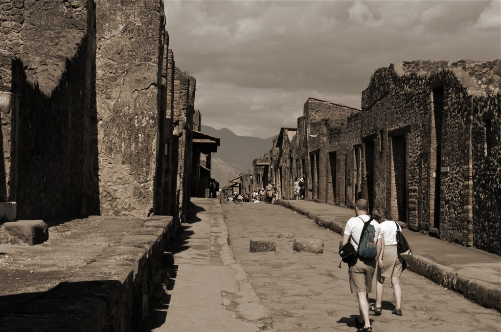 layering walkable urbanism via Photoshop and Pompeii